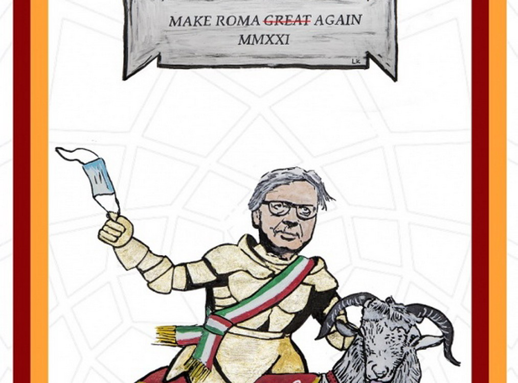 """Make Roma Great Again"", l'ultima opera di LAIKA"